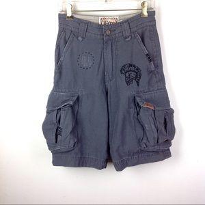 NWT Fox Deluxe Heavy Duty Cargo Shorts 26
